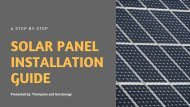 A Step by Step Guide to Solar Panel Installation Process in Texas