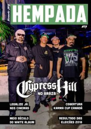 Hempada #19 - Cypress Hill no Braza