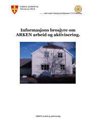 Informasjons brosjyre om ARKEN arbeid og ... - Verdal kommune