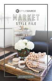 REstyleSOURCE Market Style File | Winter 2019