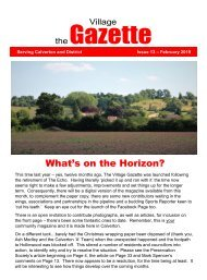 The Village Gazette - February 2019