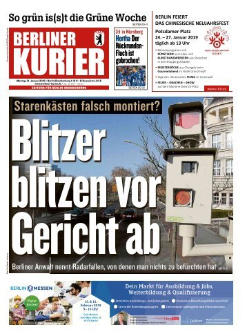Berliner Kurier 21.01.2019