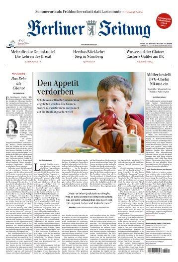 Berliner Zeitung 21.01.2019