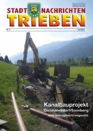 Nr. 2 Juni 2011 - Stadtgemeinde Trieben