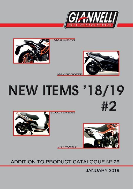 Giannelli - New Items - January 2019