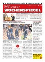 Dübener Wochenspiegel - Ausgabe 01 - Jahrgang 2019