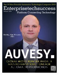 2019-01 AUVESY: Global Front Runner in Data Management Solutions