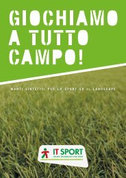 CATALOGO IT-SPORT 2019 - Italiano