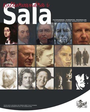 Kulturvandringsfolder (pdf, 3 MB) - Sala kommun