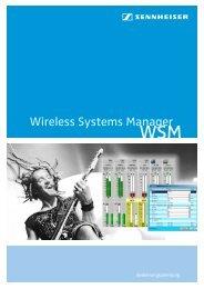 Wireless Systems Manager - Sennheiser UK