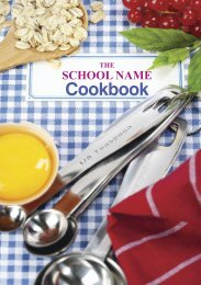 Sample Cook Book
