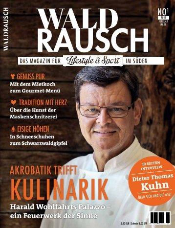 WALDRAUSCH Leseprobe Ausgabe 01/2019