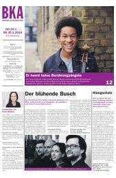 Berner Kulturagenda N°3