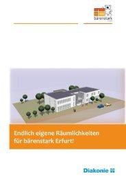 Bauprojekt bärenstarkes Familienzentrum Exposé