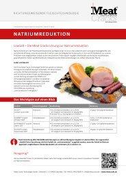 Meat Cracks – Natriumreduktion DE
