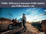 PUBG: Difference between PUBG Mobile and PUBG Mobile Lite