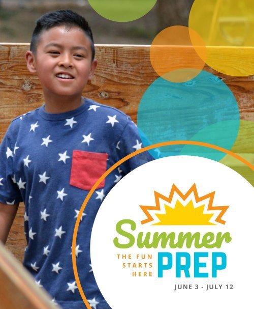 SummerPrep 2019 Catalog