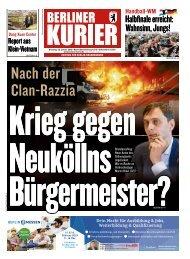 Berliner Kurier 22.01.2019