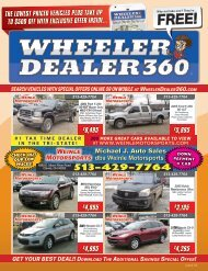 Wheeler Dealer 360 Issue 04, 2019