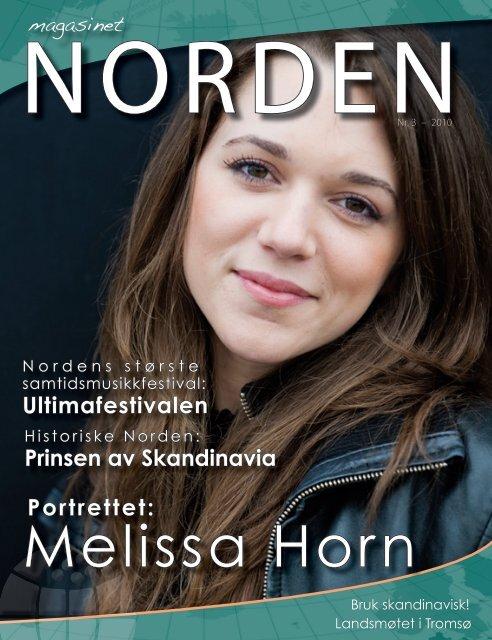 Melissa Horn - Forsiden - Foreningen Norden