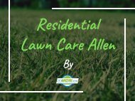lawn care service in allen tx