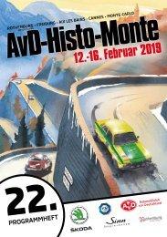 22. AvD-Histo-Monte 2019 Programmheft