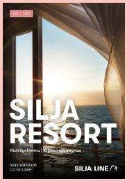 Cruise program Silja Serenade fin&swe