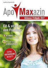 ApoMaxazin 01 Frühjahr 2017