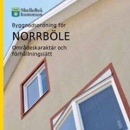 Byggnadsordning för Norrböle (pdf, nytt fönster) - Skellefteå kommun