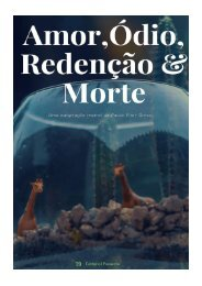 Amor, Ódio, Redenção e Morte (Adaptação teatral)_Paulo Vitor Grossi (2019)