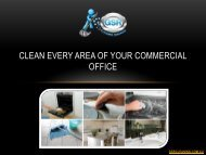 Clean Every Area Of Your Commercial Office