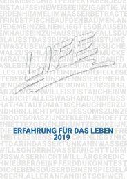 LIFE Jugendhilfe Kalender 2019