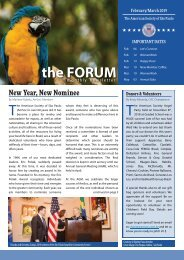 February/March 2019 FORUM