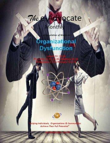Organizational Dysfunction