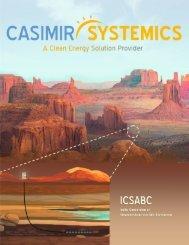 Casimir Systems Brochure 2018