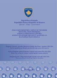 Programi i Kosovës Kundër Dhunës në Familje dhe - Republika e ...