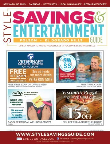 Style Savings and Entertainment Guide; February, 2019