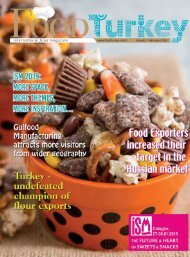 Food Turkey International Food Magazine January 2019