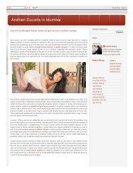 Affordable Independent Female Call Girls Service Andheri Mumbai