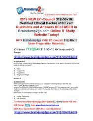 Certified Ethical Hacker Exam 2019 736 Q/&A PDF FILE! 312-50v10