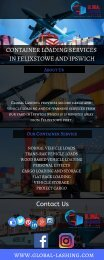 Cargo and Vehicle Loading Services | Global Lashing
