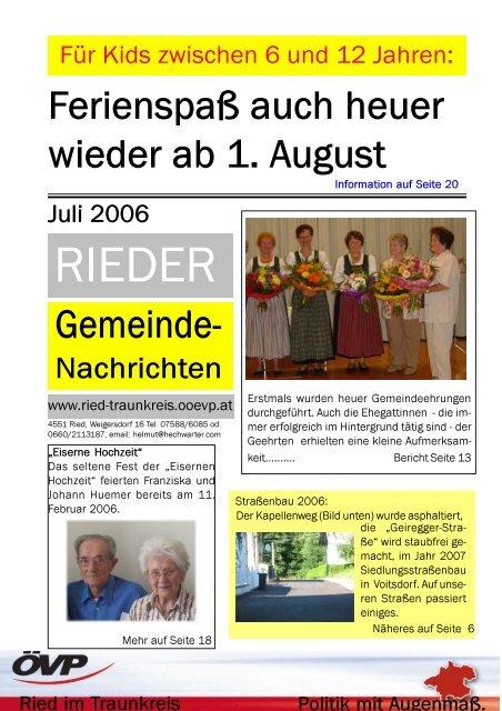 Singlebrse in Ried im Innkreis und Singletreff - flirt-hunter