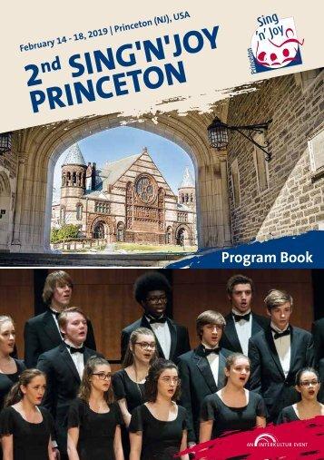 Princeton 2019 - Program Book