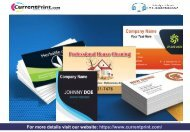 Buy Business Cards Online Delhi Currentprint