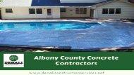 Albany County Concrete Contractors