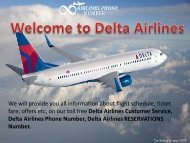 Delta Airlines Booking Phone Number