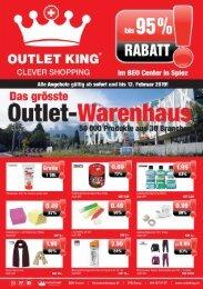 Outlet King Flyer Januar 2019