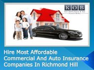 Hire Most Affordable Commercial And Auto Insurance Companies In Richmond Hill-converted