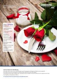 Steidinger Gastro Service – Monatsangebot Februar