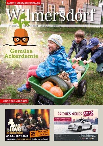 Gazette Wilmersdorf Februar 2019